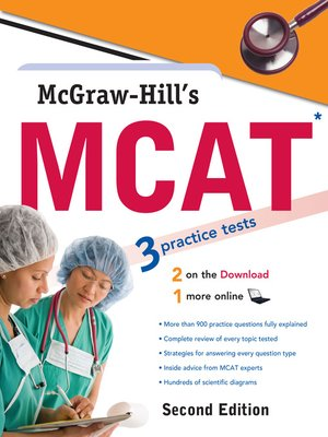 cover image of McGraw-Hill's MCAT