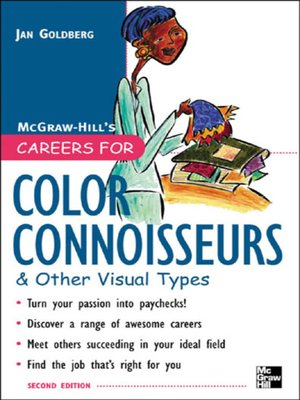 cover image of Careers for Color Connoisseurs & Other Visual Types