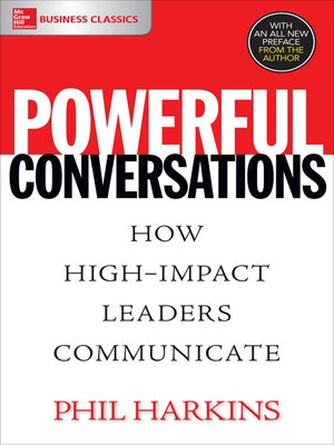 cover image of Powerful Conversations
