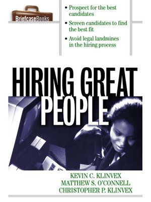 cover image of Hiring Great People