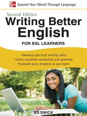 cover image of Writing Better English for ESL Learners