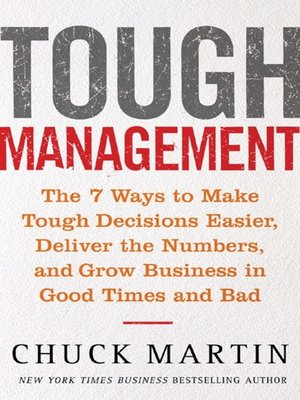 cover image of Tough Management