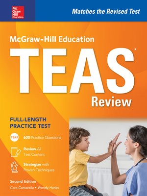 cover image of McGraw-Hill Education TEAS Review