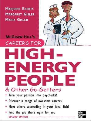 cover image of Careers for High-Energy People & Other Go-Getters