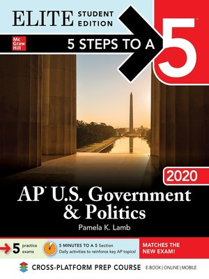 cover image of 5 Steps to a 5: AP US Government & Politics 2020
