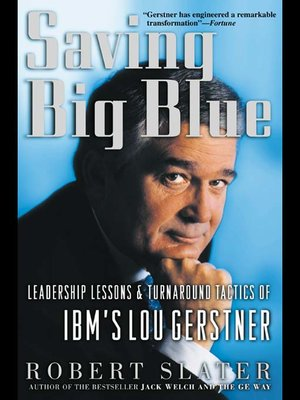 cover image of Saving Big Blue