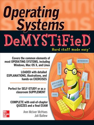 cover image of Operating Systems DeMYSTiFieD