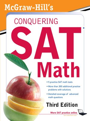 cover image of McGraw-Hill's Conquering SAT Math