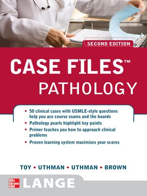 cover image of Case Files<sup>TM</sup>