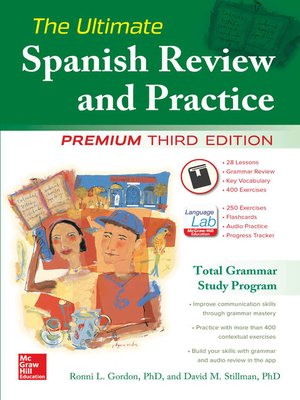 cover image of The Ultimate Spanish Review and Practice, 3rd Ed.