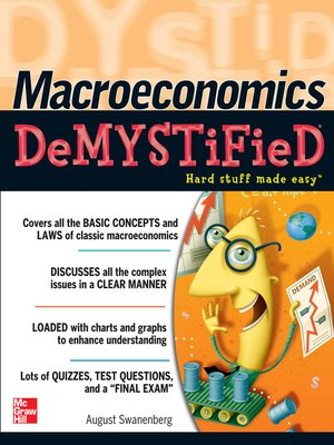 cover image of Macroeconomics Demystified