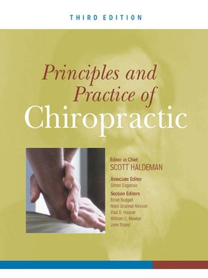 cover image of Principles and Practice of Chiropractic