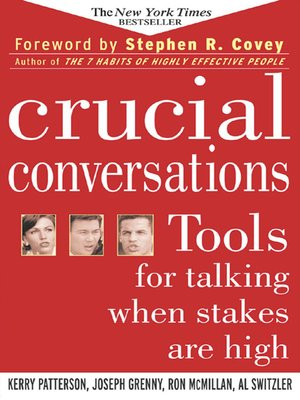 cover image of Crucial Conversations