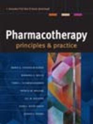 cover image of Pharmacotherapy Principles & Practice