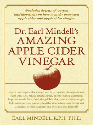 cover image of Dr. Earl Mindell's Amazing Apple Cider Vinegar