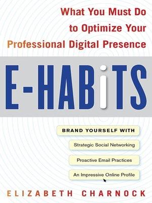 cover image of E-Habits