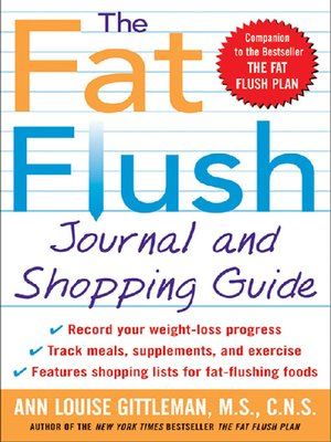 cover image of The Fat Flush Journal and Shopping Guide