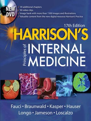 cover image of Harrison's Principles of Internal Medicine