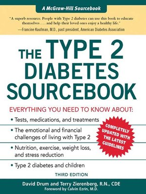 cover image of The Type 2 Diabetes Sourcebook