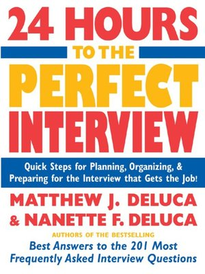 cover image of 24 Hours to the Perfect Interview