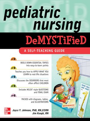 cover image of Pediatric Nursing Demystified