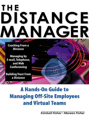 cover image of The Distance Manager