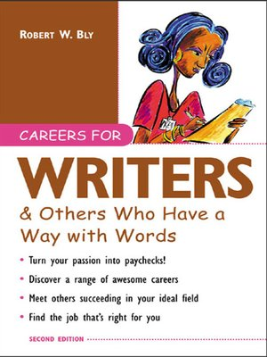 cover image of Careers for Writers & Others Who Have a Way with Words