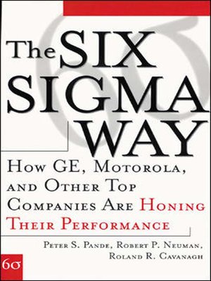 cover image of The Six Sigma Way