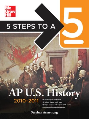 cover image of 5 Steps to a 5 AP U.S. History, 2010-2011 Edition