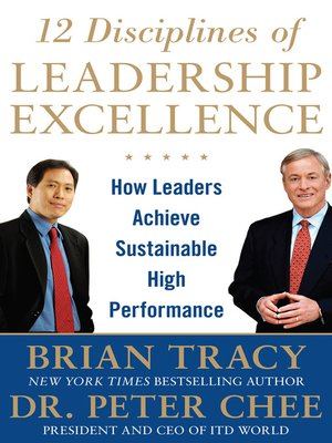 cover image of 12 Disciplines of Leadership Excellence