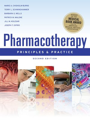 cover image of Pharmacotherapy Principles and Practice