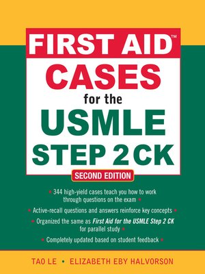 cover image of First Aid<sup>TM</sup> Cases for the USMLE Step 2 CK