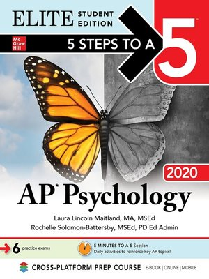 cover image of 5 Steps to a 5: AP Psychology 2020