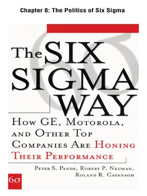 cover image of The Politics of Six Sigma