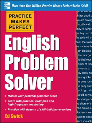 cover image of Practice Makes Perfect English Problem Solver