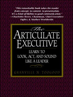 cover image of The Articulate Executive