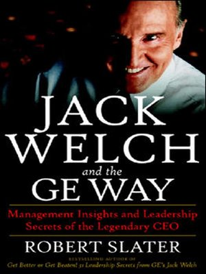 cover image of Jack Welch and the GE Way