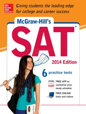 cover image of McGraw-Hill's SAT 2014 Edition