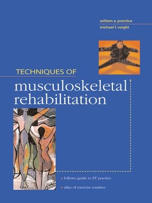 cover image of Techniques in Musculoskeletal Rehabilitation