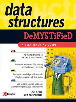 cover image of Data Structures Demystified