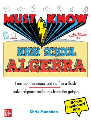 cover image of Must Know High School Algebra