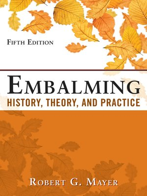 cover image of Embalming