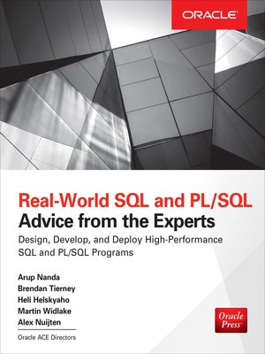 cover image of Real World SQL and PL/SQL