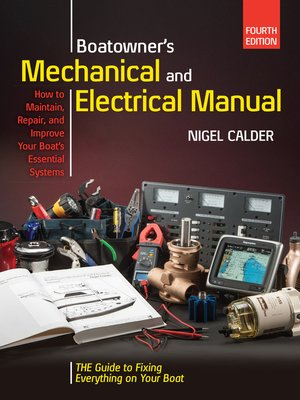 cover image of Boatowners Mechanical and Electrical Manual