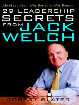 cover image of 29 Leadership Secrets From Jack Welch