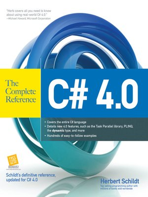cover image of C# 4.0 The Complete Reference
