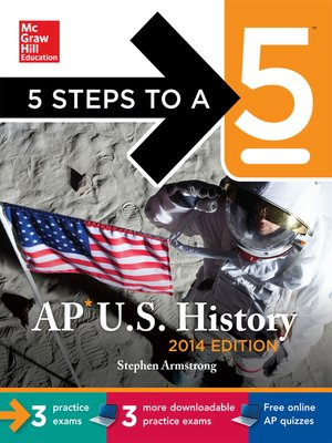 cover image of 5 Steps to a 5 AP US History, 2014 Edition