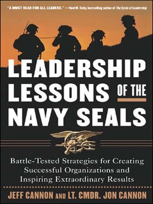 cover image of Leadership Lessons of the Navy SEALS