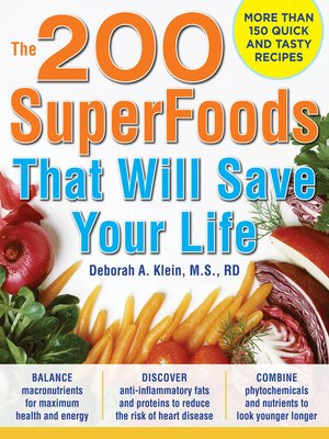 cover image of The 200 SuperFoods That Will Save Your Life