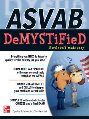 cover image of ASVAB DeMYSTiFieD